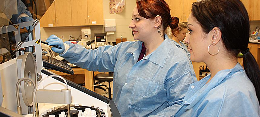 Medical Laboratory Technician program at OJC