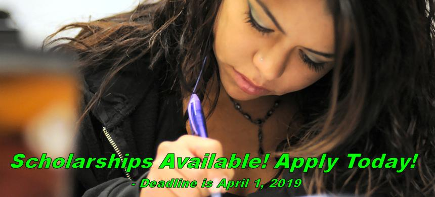 Spring semester has arrived and that means it's time to apply for scholarships. And it's easier than ever. Use our new AwardSpring Scholarship Application Program. It's fast, it's easy! Get your application in before the April 1, 2019 deadline.