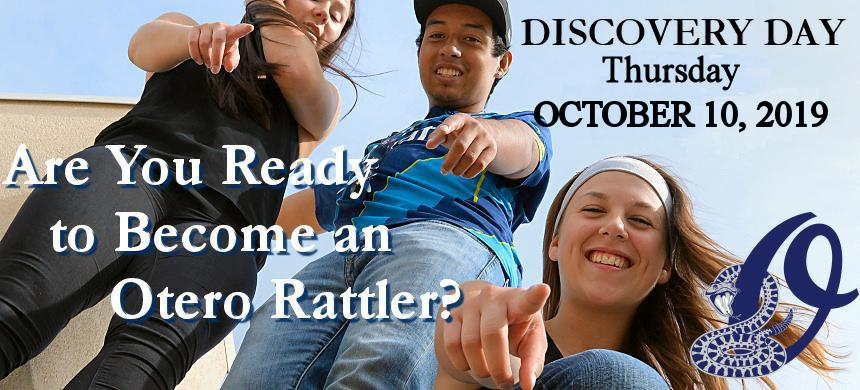 Are you ready to become an OJC Rattler? The best way to discover OJC is to register for Discovery Day. Tour the campus and personally meet with the faculty and staff to have your questions answered.