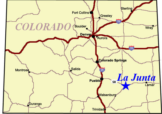Road Map Of Colorado Images