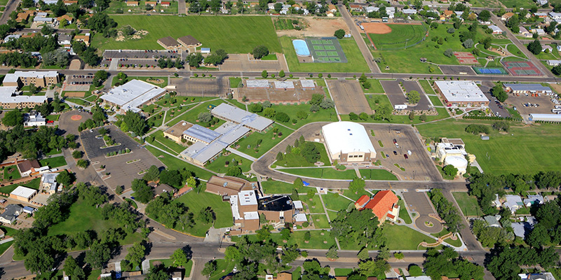 Aerial Photo of OJC Campus
