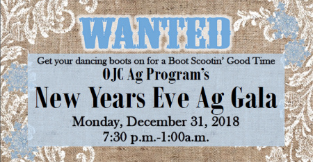 New Years's Eve Ag Gala