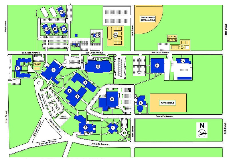 Campus Map   Otero Junior College Catalog
